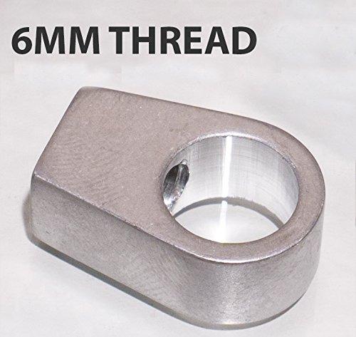 High Desert Solutions Polaris Dump Bed Strut Rod End Replacement Parts (Check Fitment Below) (6mm (Qty 1))
