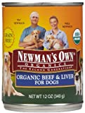 Newm Org Dog Bf/Lvr 12/12Oz by Newman's Own For Sale