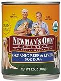 Newm Org Dog Bf/Lvr 12/12Oz by Newman's Own, My Pet Supplies