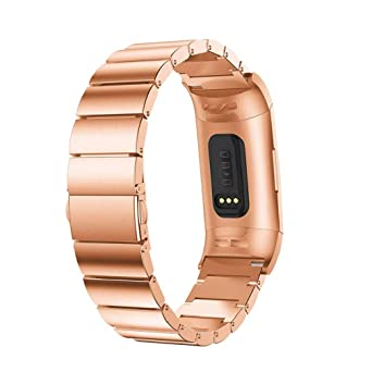 Scpink FB Charge 3 Correas Metal Pulsera de Acero Inoxidable ...