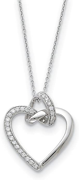 925 Sterling Silver Cubic Zirconia Cz Tears To Share 18 Inch Chain Necklace Pendant Charm Inspirational Fine Jewelry Gifts For Women For Her