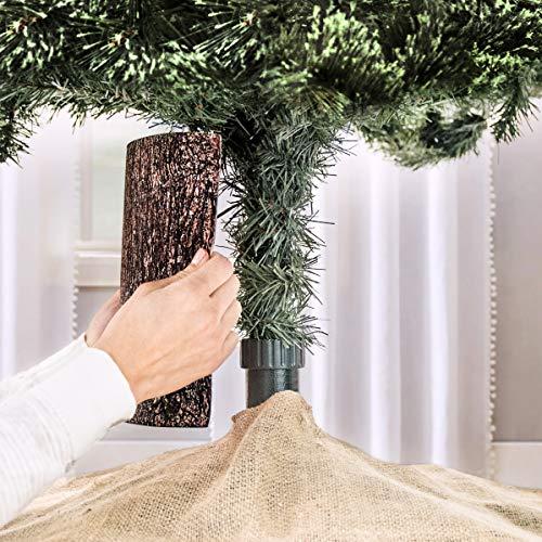 The Christmas Tree Hugger - Christmas Tree Skirt Accessory, Christmas Tree Collar, Christmas Tree Ring, Tree Box Alternative (Fake Tree For Stand Christmas)
