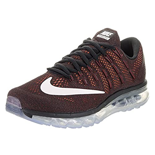 c69483e7 ... germany nike mens air max 2016 running shoes black summit white dark  cayenne 806771 010 size