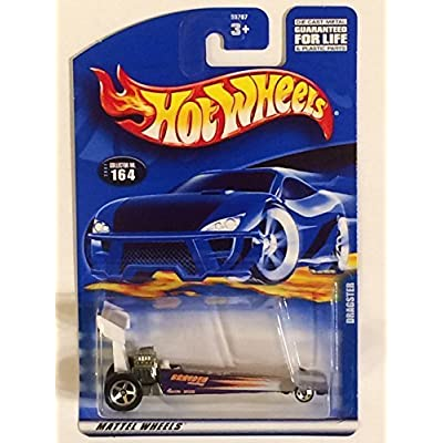 #2001-164 Dragster Mini 5-Spoke Wheel Collectible Collector Car Mattel Hot Wheels: Toys & Games