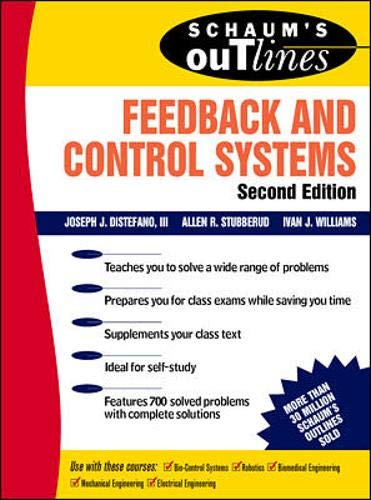 Schaums Outline of Feedback and Control Systems, Second Edition Schaums Outline Series: Amazon.es: Stubberud, Allen, Williams, Ivan, Distefano, Joseph: Libros en idiomas extranjeros