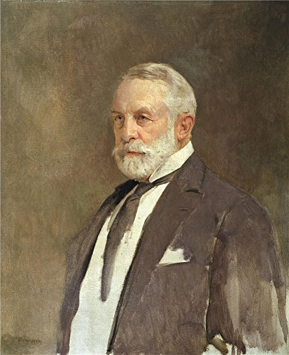 Oil Painting 'Gerald Kelly - Portrait Of Henry Clay Frick, 1924' 10 x 12 inch / 25 x 31 cm , on High Definition HD canvas prints is for Gifts - Center Shopping Westland