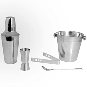 5840d2dffb31 Cocktail Kosma Set di 5pc in acciaio inossidabile
