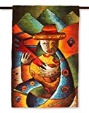 NOVICA ''Love Serenade'' Alpaca Blend Tapestry