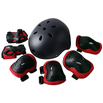 62e0105dfa8 Rayhome Sports Protective Gear Skating Knee Elbow Support Pads Set outdoors  Safety Protection for Scooter,
