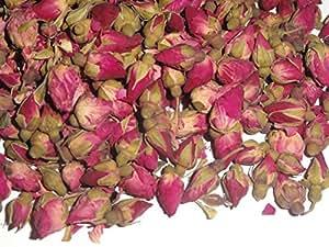 1 Oz. Miniature Chinese Rose Buds - Dried Tea Herb Flower Rosebuds Wed