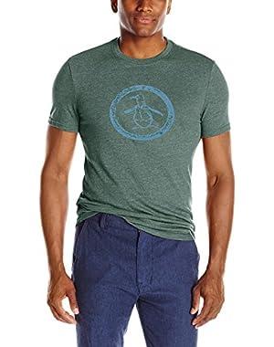 Men's Triblend Circle Logo T-Shirt