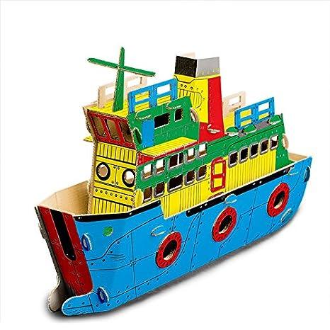 Modellino Nave Da Crociera In Cartone Todo Cruise Ship Amazonit