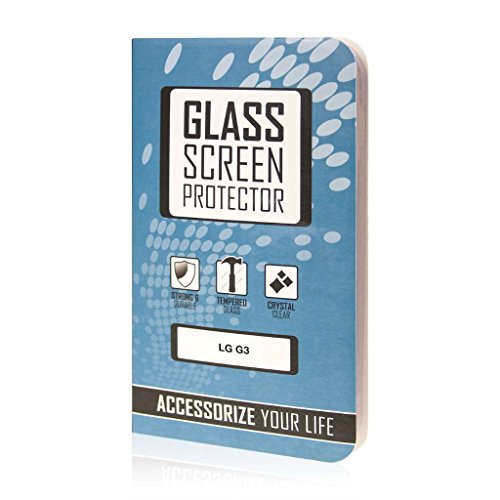 LG G3 Screen Protector Glass, MPERO Collection Tempered Glass Screen Protector (.33mm) for LG G3