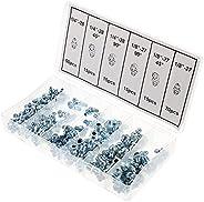 DOITOOL 130 peças de acessórios de graxa retas angulares com excelente ajuste de graxa