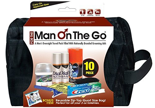 Convenience Kits Men's Deluxe Travel Bag by Convenience Kits