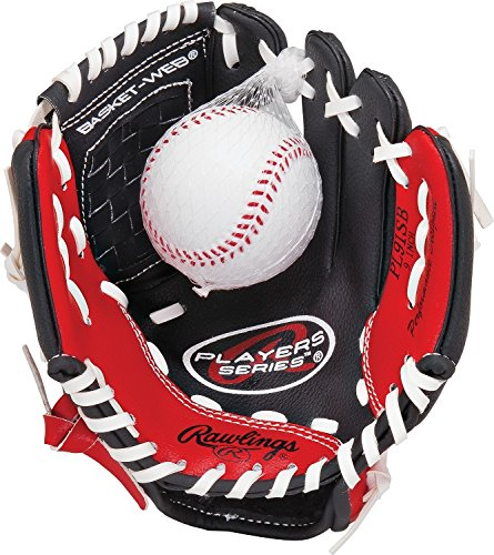 Rawlings T-Ball Glove (Ages 6 and Under) Available in Right or Left (Little Baseball Glove)
