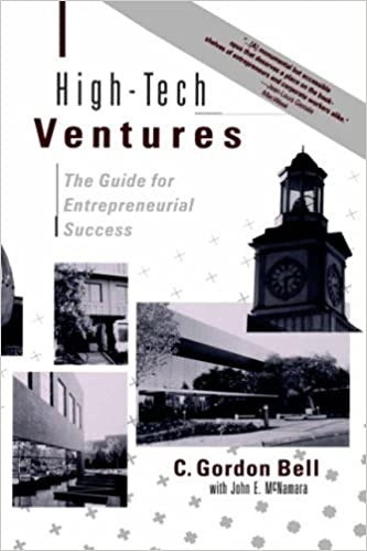 HighTech Ventures The Guide For Entrepreneurial Success C