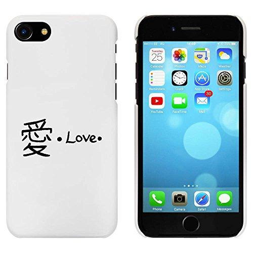 Blanc 'Amour Chinois' étui / housse pour iPhone 7 (MC00062742)