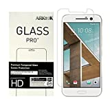 HTC 10 Screen Protector, ARKTeK 0.26mm Super Thin 2.5D Rounded Edges Tempered Glass Screen Protector for HTC 10 [2-Pack]