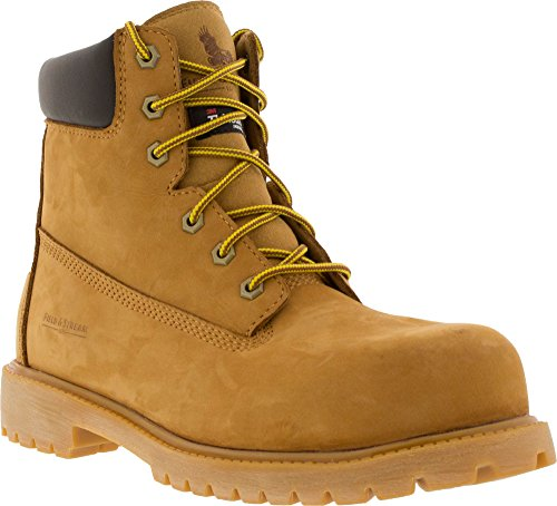 Field & Stream Men's Classic 200g Composite Toe Work Boots (Wheat, 12 D(M) (Classic Field Boot)
