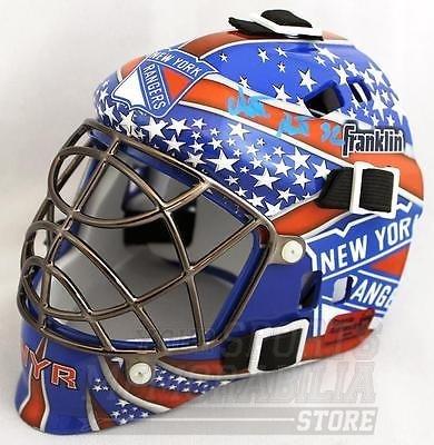 Antti Raanta New York Rangers Signed Autographed Rangers Mini Goalie (Signed Goalie Mask)