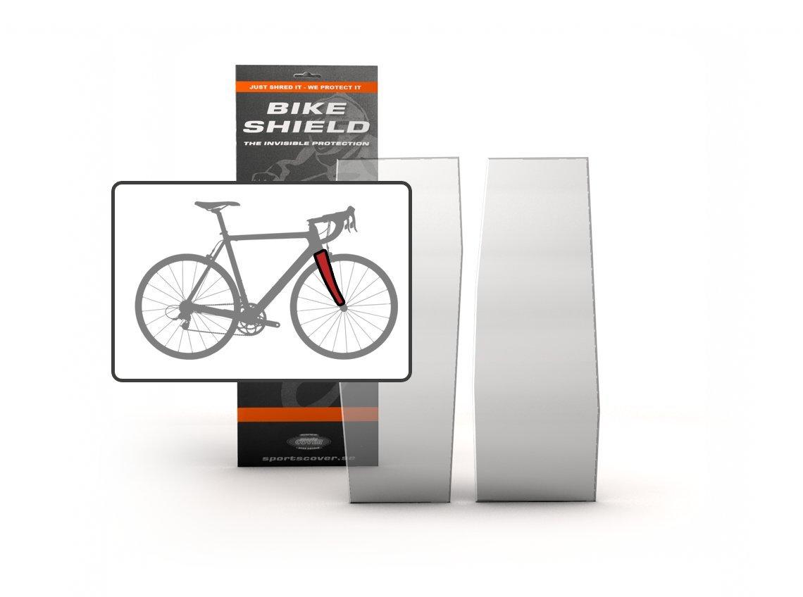 Transparent BikeShield 10010-109 Film de Protection pour Cadre v/élo de Route Mixte Adulte