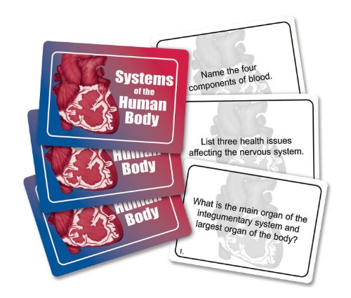 J&B Products Systems of The Human Body Game