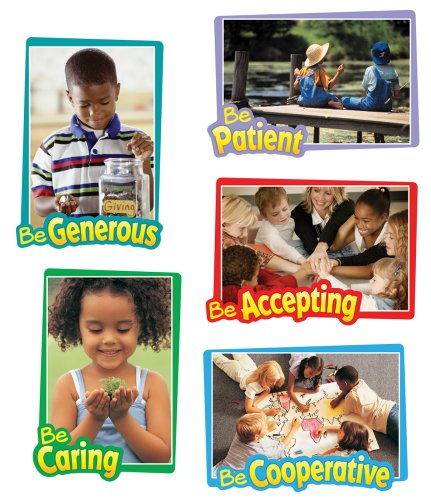- Carson Dellosa First-Rate Character Traits Bulletin Board Set (110095)