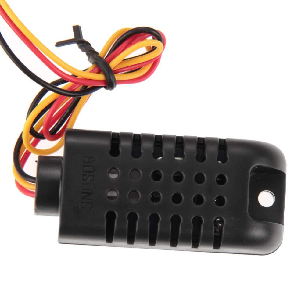 SODIAL AC/DC 12V Digital Temperature Humidity Controller Board Relay Thermostat Capacitive Temperature Hygrometer Controller Module