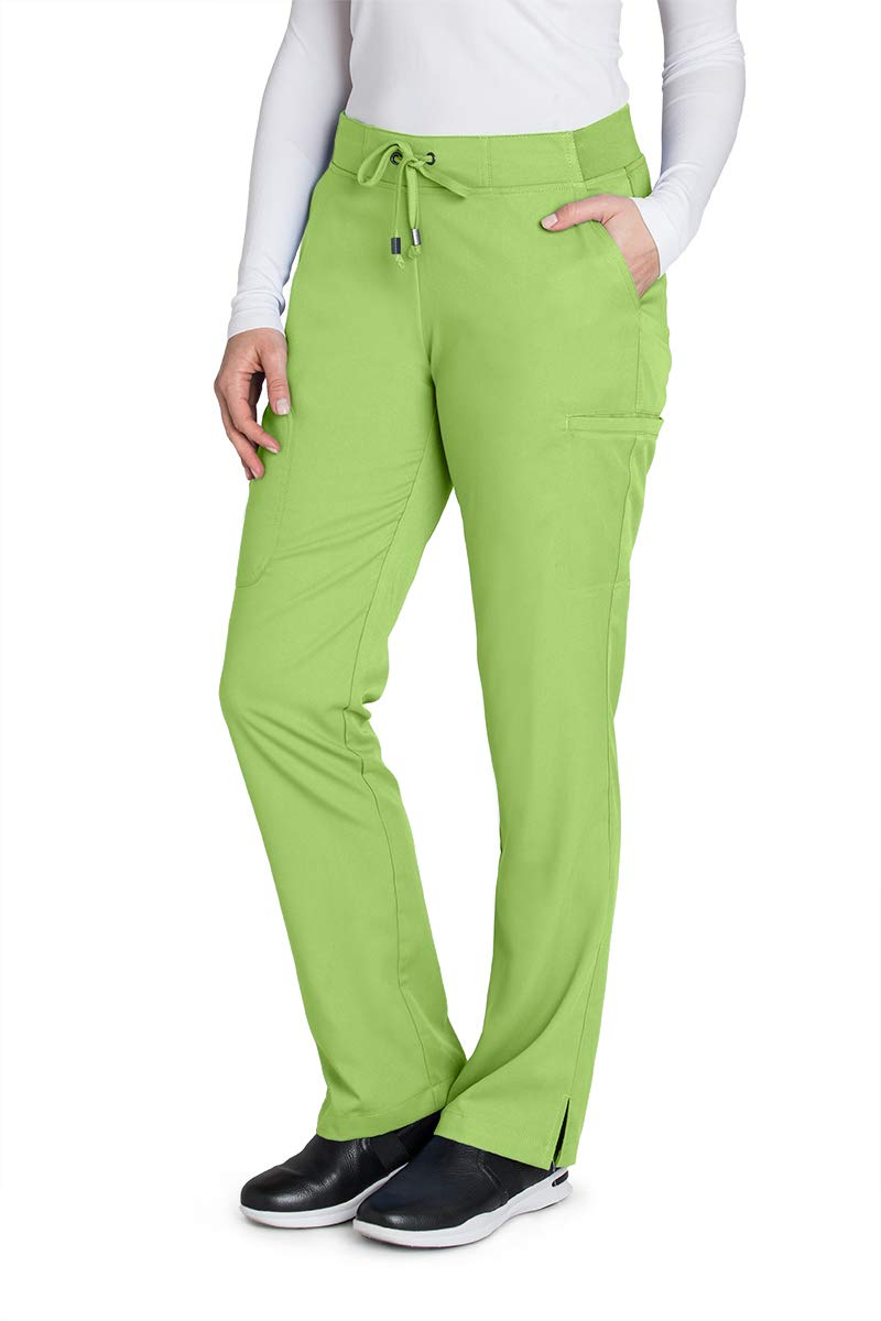 Grey's Anatomy 4277 Straight Leg Pant Kiwi S