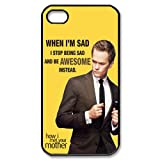 Custom Creative How I Met Your Mother poster case for Iphone 4/4s best cover show 1wa123