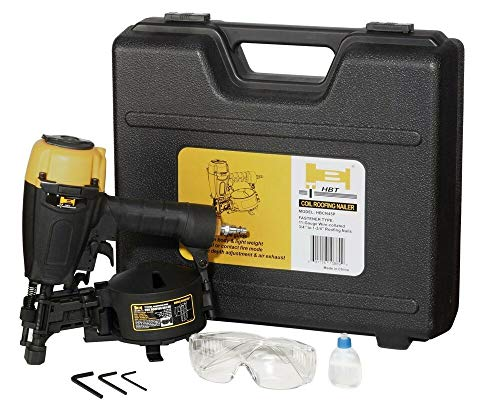 Brand New HBT HBCN45P 3/4″ to 1-3/4″ Coil Roofing Nailer with Magnesium Housing – WQ75003