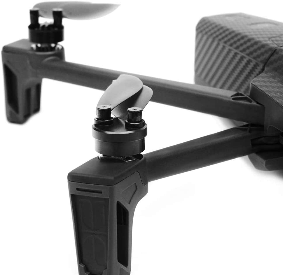 Black Tineer CNC aluminum alloy Waterproof Motor Covers Dustproof Protective 4PCS Cover protector Parrot Anafi Drone