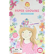 Tiger Tribe Paper Crowns Kit, Princess Gems Arts and Crafts