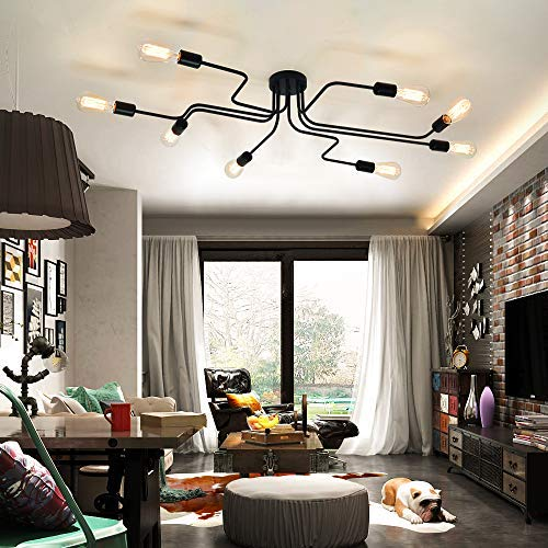 Amazon.com: Este artículo 8 luces semi empotrables de techo ...