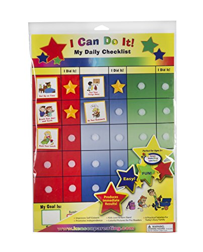 (Kenson Kids I Can Do It Daily Checklist)