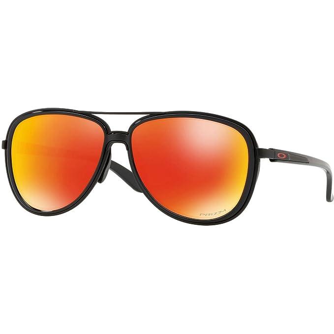 Oakley Split Time 412904 Gafas de sol, Matte Black, 58 para ...