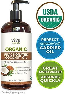 Viva Naturals Organic Fractionated