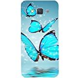 Casotec Flying Butterflies Design Hard Back Case Cover for Samsung Galaxy A3