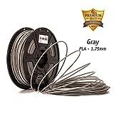 Gray PLA- Dazzle Light 3D PLA-1KG 1.75-BLK PLA 3D