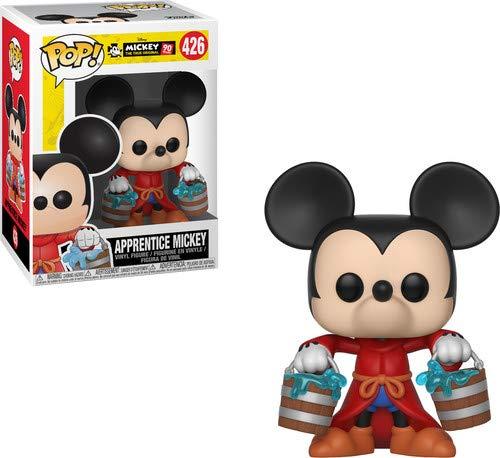 Funko Pop Disney: Mickey's 90Th - Apprentice Mickey Collectible Figure, Multicolor -