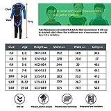 IREENUO Kids Wetsuit Neoprene 2.5mm Thick Long Sleeve One...