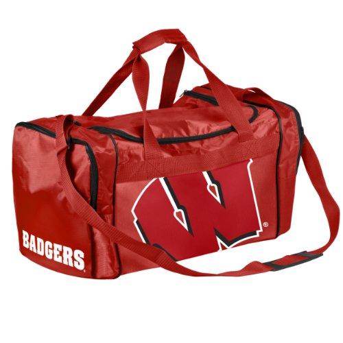 FOCO Wisconsin Core Duffle Bag (Bag Badgers Gym Wisconsin)