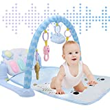 Howardee Kids Children Fitness Rack Baby Toys Piano Music Blanket Intellectual Development