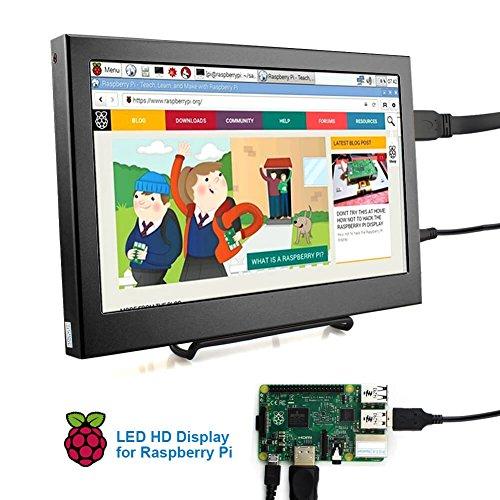 Elecrow 11.6 Inch 1920X1080 HDMI VGA PS3 PS4 WiiU Xbox360 1080P LED Display Moniter for Raspberry Pi 3, 2 1 Model B B+ Windows 7 8 10 System Home Office (Black) by Elecrow (Image #2)