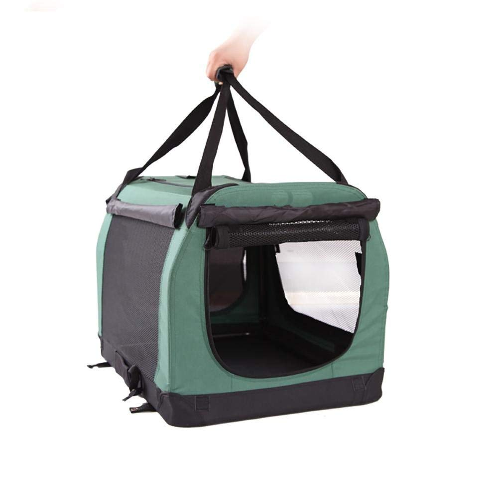 604242cm green 604242cm green TRNMC Portable Soft Pet Carrier Crate Kennel Dog, Cat other pets. Great Travel, Indoor Outdoor
