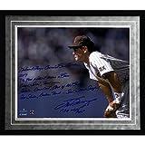 MLB San Diego Padres Framed 16x20 Steve Garvey Facsimile 'NL Consecutive Streak' Story Photo