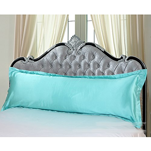 light blue body pillow case - 6