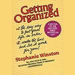 Getting Organized   Stephanie Winston