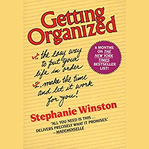 Getting Organized Audiobook
